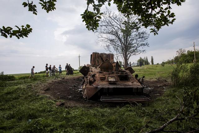 تجدد المعارك بالقرب من كراماتورسك جنوب شرق أوكرانيا