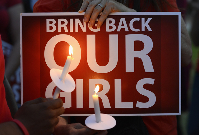 احتجاجات شعبية ضد اختطاف أكثر من 200 تلميذة في نيجيريا