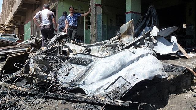 مقتل 9 أشخاص وإصابة 19 آخرين في تفجيرين ببغداد
