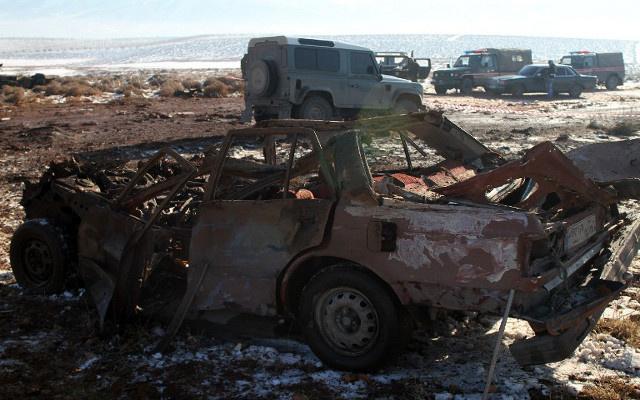 ناشطون: مقتل 43 شخصا في انفجار بمعبر سوري عند الحدود السورية التركية (فيديو)