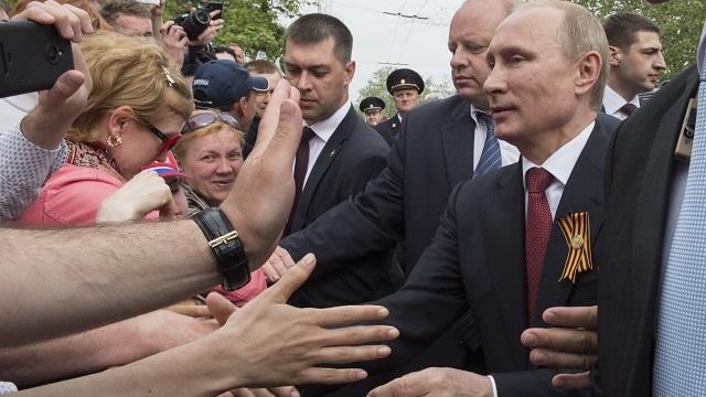شعبية بوتين تحقق رقما قياسيا جديدا بداية مايو وترتفع إلى 85.9%