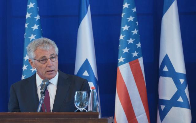 تقارير عن قيام إسرائيل بالتجسس على الولايات المتحدة وهاغل ينفي علمه بذلك
