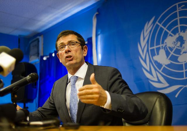 مساعد أمين عام الأمم المتحدة لحقوق الانسان يبدأ جولة في أوكرانيا