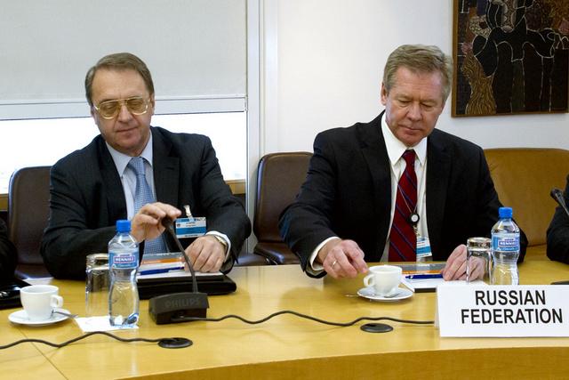 بوغدانوف: يجب عدم إضاعة الوقت وتحديد موعد