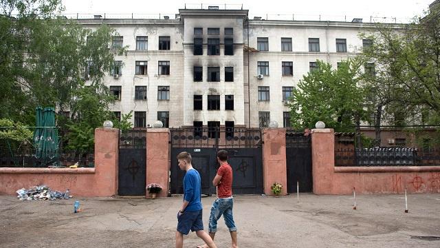 الداخلية الأوكرانية: 6 من ضحايا مأساة أوديسا قضوا بعيارات نارية