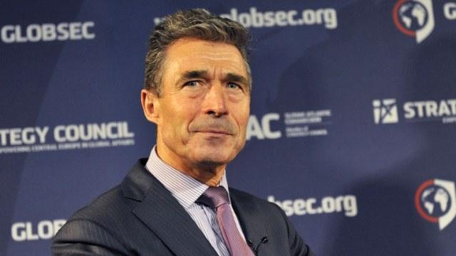 راسموسن: من السابق لأوانه الحديث عن دعوة جورجيا للانضمام الى الناتو