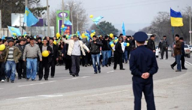 سلطات القرم تحظر المظاهرات حتى 6 يونيو/حزيران بسبب أحداث شرق أوكرانيا