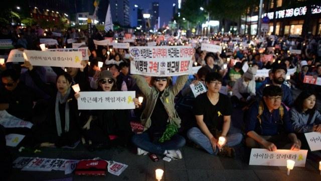 حصيلة ضحايا غرق العبارة الكورية الجنوبية تصل إلى 285 و19 شخصا في عداد المفقودين