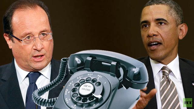 أوباما وهولاند يهددان بفرض عقوبات جديدة على روسيا