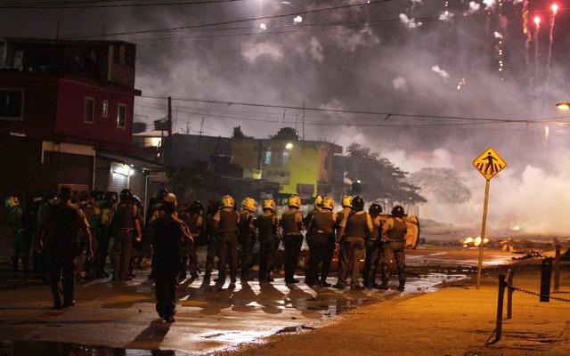 مظاهرات في البرازيل قبل أسابيع من تنظيم المونديال (فيديو)