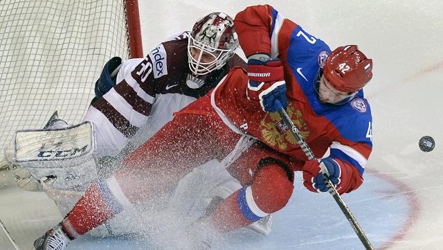 روسيا إلى الدور ربع النهائي من بطولة العالم لهوكي الجليد