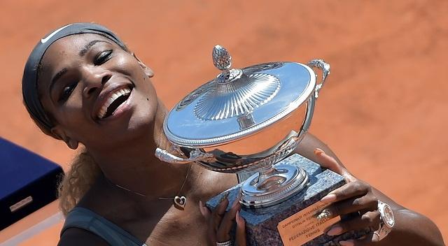 الأمريكية سيرينا وليامز تحرز لقب دورة روما للتنس