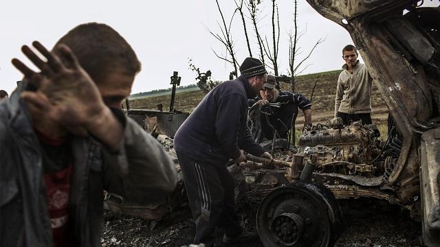 استمرار التوتر والاشتباكات في جنوب شرق أوكرانيا
