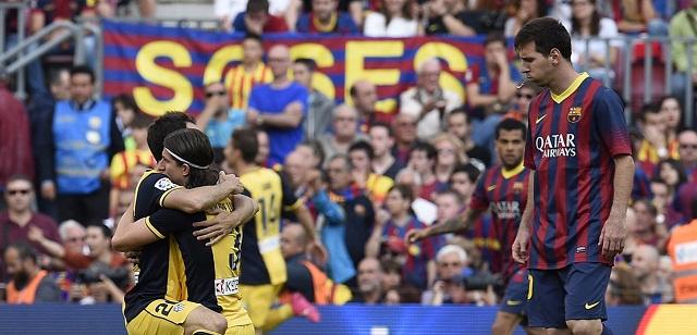 جماهير برشلونة غاضبة من ابن النادي المدلل ميسي