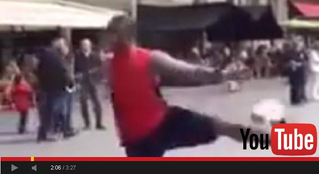 بالفيديو.. شاهد هذه المهارة الباريسية الفريدية من نوعها في رياضة