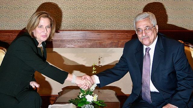 ليفني تدعو إلى استئناف المفاوضات مع الجانب الفلسطيني
