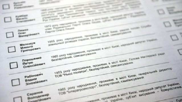 موسكو: إجراء انتخابات الرئاسة في أوكرانيا دون تنفيذ