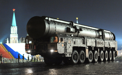 روسيا تختبر صاروخ
