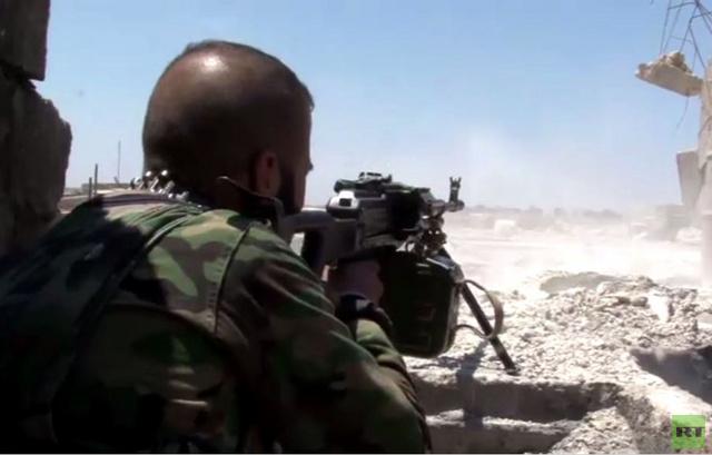 تواصل الاشتباكات في مناطق حلب و