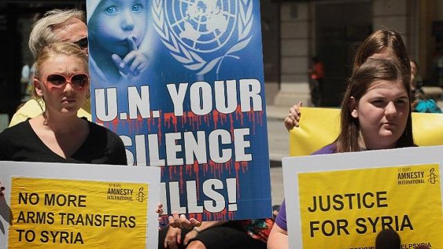 العفو الدولية: فشل المجتمع الدولي