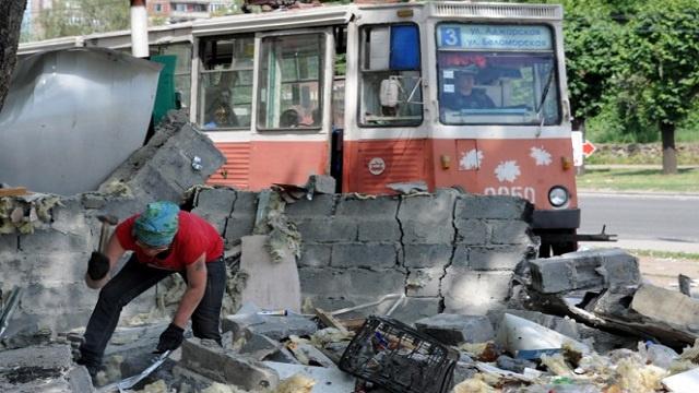 تدهور الوضع الإنساني في شرق أوكرانيا