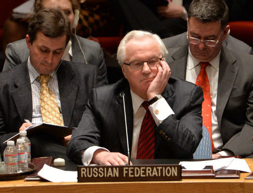تشوركين: مجلس الأمن لم يؤيد اقتراح روسيا إجراء تحقيق حيادي في أحداث أوديسا