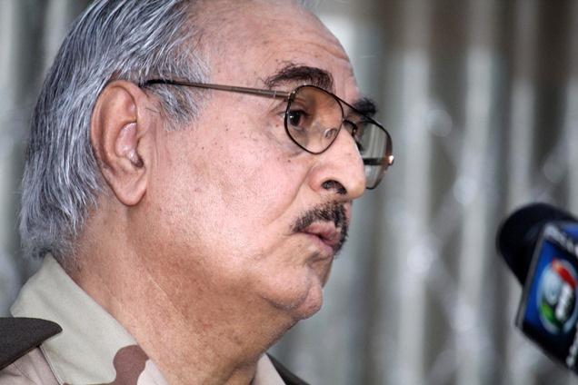 حفتر: المؤتمر الوطني الليبي أخفق في تنفيذ مهامه وليبيا أصبحت دولة راعية للإرهاب