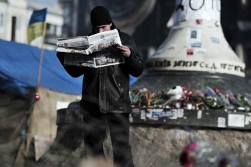 سلطات كييف تجمد عمل أكبر صحيفة في البلاد قبيل الانتخابات