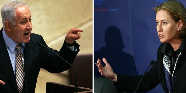 تقارير: نتانياهو كان على وشك إقالة ليفني بعد لقائها بعباس في لندن