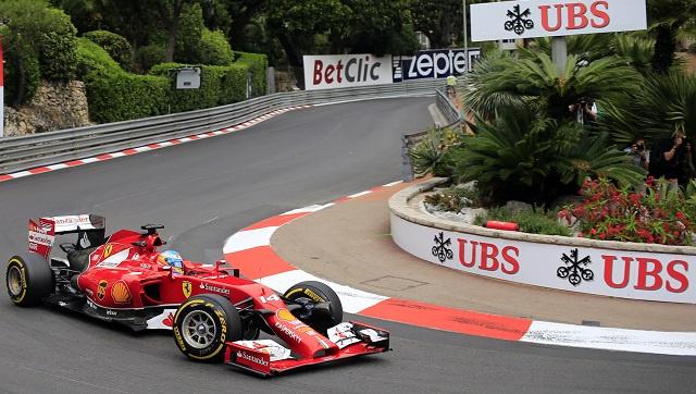 ألونسو يتصدر الجولة الثانية من التجارب الحرة لسباق موناكو
