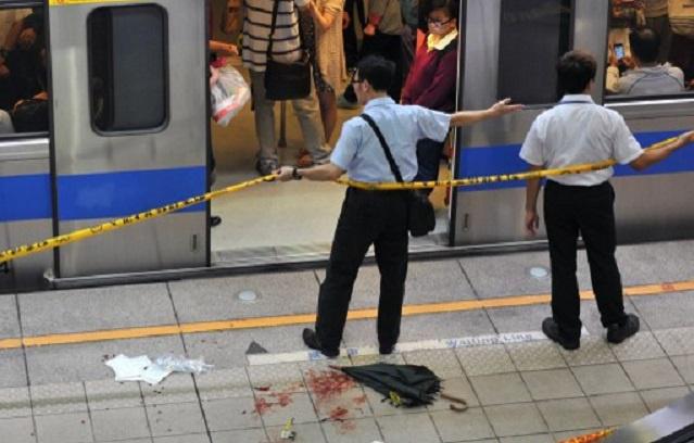 مقتل واصابة 25 شخصا في هجوم بالسكاكين في تايوان (فيديو)