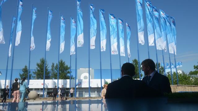 منتدى بطرسبورغ الاقتصادي الدولي يواصل أعماله