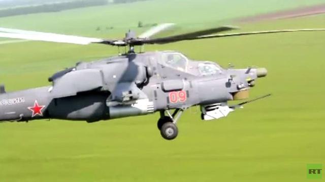 بالفيديو.. تدريبات لوحدة المروحيات القتالية بالجيش الروسي في مقاطعة روستوف