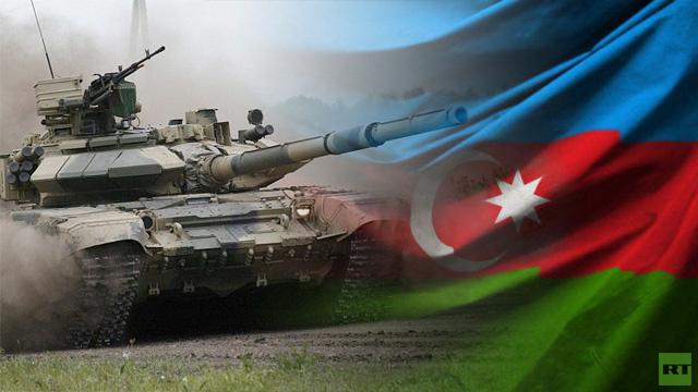 روسيا تسلم اذربيجان 100 دبابة من طراز