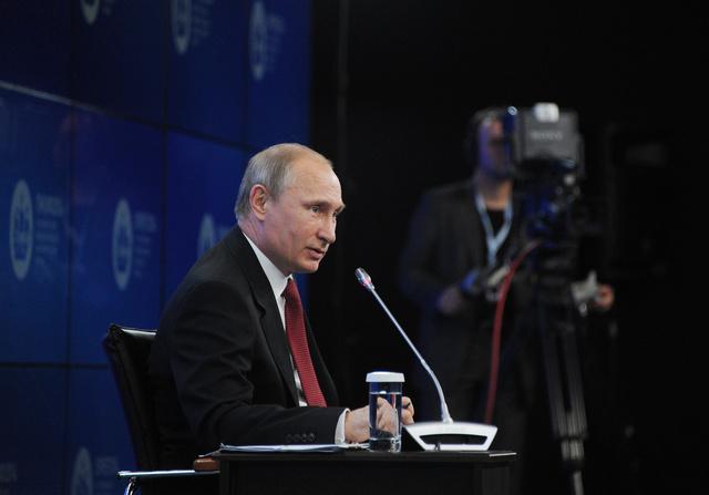 بوتين: نرغب في تهدئة الأوضاع في أوكرانيا وسنحترم خيار الشعب الأوكراني