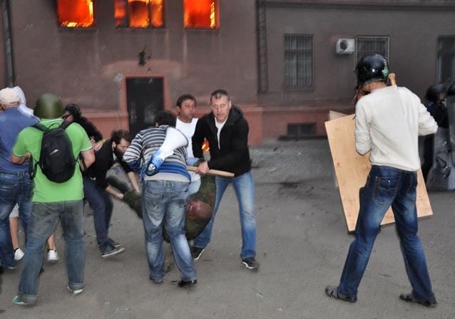 روسيا تطلب من منظمة حظر الكيميائي إجراء التحقيق في استخدام المواد السامة أثناء محرقة أوديسا