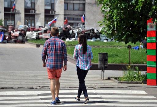 معارضو سلطات كييف يشكلون جبهة شعبية جنوب شرق أوكرانيا