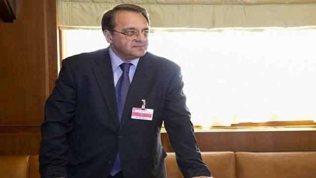 روسيا تؤكد على ضرورة الإستئناف العاجل للحوار بين السوريين