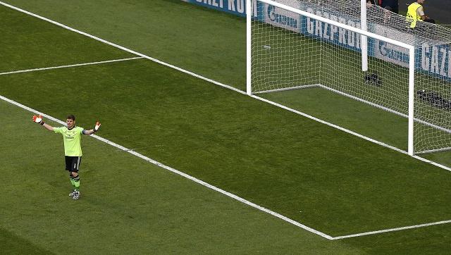 بالفيديو .. غودين يهز شباك ريال مدريد في نهائي التشامبيونز ليغ