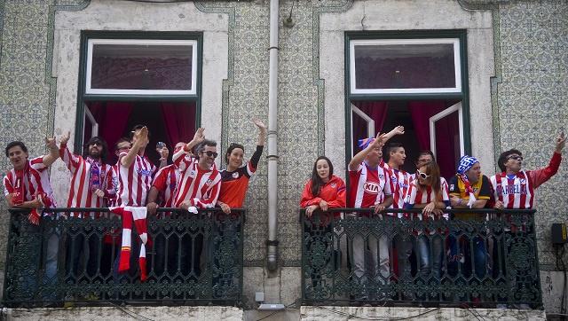 سرقة تذاكر عائلات لاعبي أتلتيكو مدريد