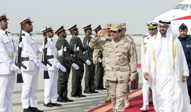 الإمارات تتعهد بمواصلة دعمها لمصر في مرحلة ما بعد الإنتخابات