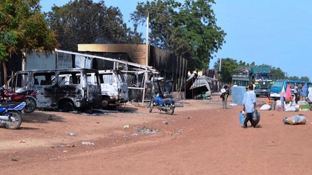 مقتل 3 أشخاص في انفجار بمدينة جوس النيجيرية