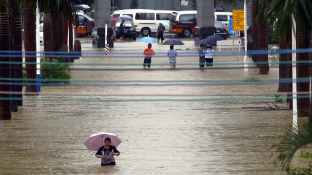 هطول أمطار شديدة في الصين تودي بحياة 15 شخصا