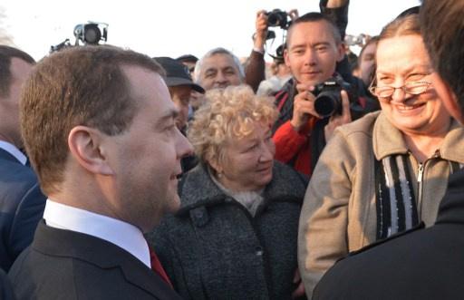 للمرة الثانية مدفيديف يزور القرم بعد انضمامها إلى روسيا