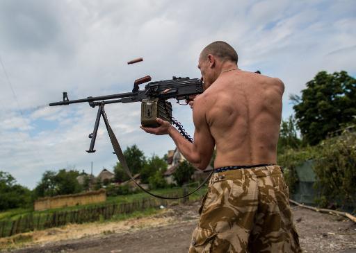 توقف الاشتباكات شرق أوكرانيا بعد معارك وقعت عشية الانتخابات الرئاسية