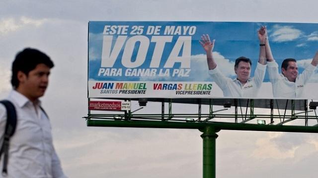 انتخابات رئاسية في كولومبيا والمتنافسون يختلفون في الموقف من