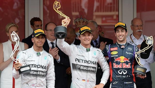 روزبرغ يتوج بجائزة موناكو الكبرى للعام الثاني على التوالي