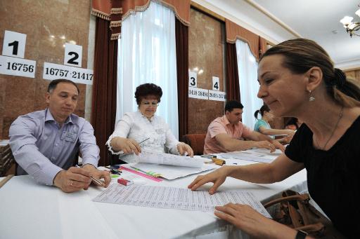 حوالي 900 أوكراني من بين 27 الفا يصوتون في الانتخابات الرئاسية بموسكو