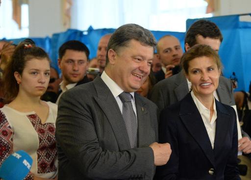 كييف تعلن انتخاب بوروشينكو رئيسا لأوكرانيا