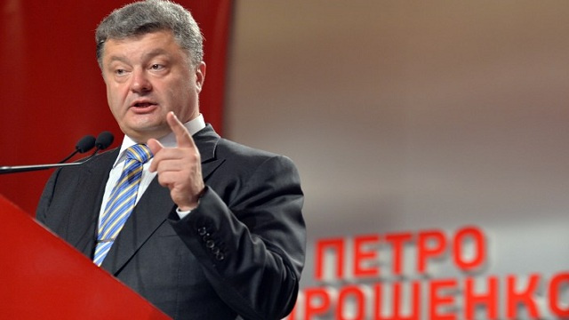 بوروشينكو: المحادثات مع روسيا ممكنة بوساطة أمريكا والاتحاد الأوروبي